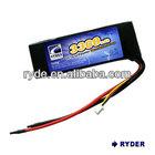 Li-polymer -6545135 -11.1V 3300mAh 18C High Power toys battery