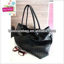 skb584 wholesale new fashion tote knitting bag
