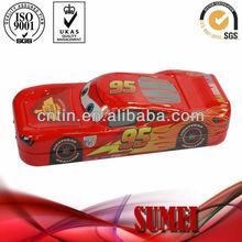 car shape pencil tin box