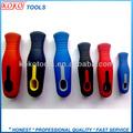 El diseño del cliente diferentes tamaños holes' herramientas de mano pp y tpr mango de plástico