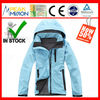 factory outlet, softshell bonded with polar fleece waterproof breathable women softshell jacket (N123)