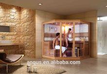 NEW design(hemlock,ceder,white pine,finland pine)Sauna room,Dry Sauna roomYH-1221