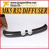 Carbon Fiber MK5 R32 Rear Diffuser For Volkswagen Golf 5