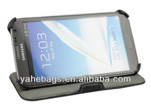 genuine leather case for samsung, leather case for galaxy note ii n7100