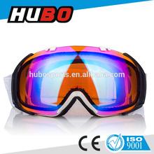 CE certificate fashion accessory anti-fog lens jet ski sports safety skiing goggle