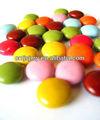 Die größte bunten süßigkeiten beschichtet schokolinsen, die maschinen