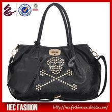 Punk Stylish Cool Girls Skull Studded Bags Rhinestone Shoulder Bags