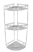 Aluminium bath corner rack, aluminum 3 tiers corner shelf shinny L18-8-3