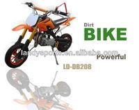 cheap yellow 49cc mini dirt bike,mini kids gas dirt bikes for sale (LD-DB208)