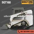 sgt160 minicargadoras de la pista de la pista 700kg minicargadora