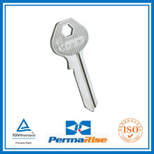 nickel plated brass house key blank for African market