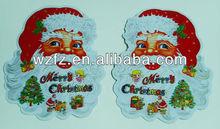 Merry ams santa christmas stickers free