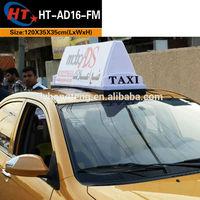 Taxi top light box car top led advertising sign lamp