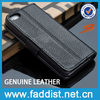 OEM hot selling wallet case for iphone 5 5s GENUINE leather case
