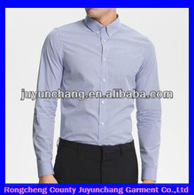New fashion long sleeve formal solid color shirts for men