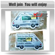 Eco-friendly Car Paper Air Freshener, Truck Shape Paper Air Freshener, Hanging Paper Freshener