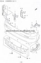 Imagen 96 suzuki sx4 traseros de parachoques( hatchback)