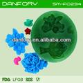 Flor de silicone chocolate/fondant bolo molde/fondant ferramentas de decoração