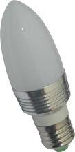 E27 1W LED Candle lighting