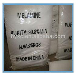 China good quality White Powder Melamine 99.8% Min