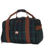 Classic scotch plaid foldable travel bag, multifunctional fit travel bag