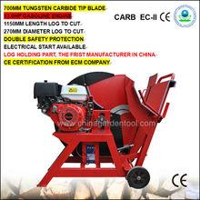 13hp motore a benzina sega legno macchina di taglio( cl700-1 13hp)