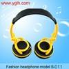 NEW UNIQUE DESIGN !!DJ studio Music headphone headset earphone for MP3 MP4 iPhone Mobile phone