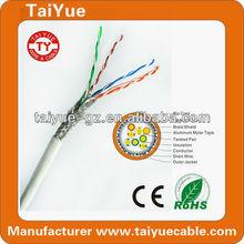 High Quality fluke test flat sftp cat 5 ethernet lan cable