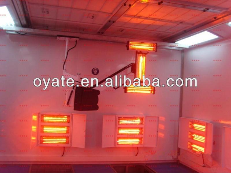 lámparas de calor infrarrojo para la pintura de secado