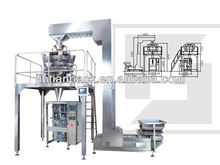 Peanuts packing machine with multihead weigher of JT-420W