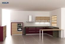 MFC faced moisture resistant kitchen cabinet