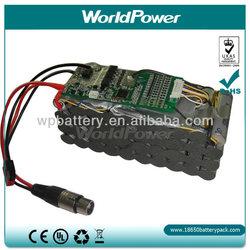 Large Capacity 36V11.6AH Rechargable Panasonic Battery Pack