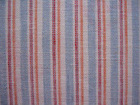 23*17 yarn dyed stripe linen and cotton fabric