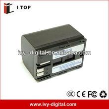 For Canon BP-522 BP-522A Digital Camcorder Battery 2600mAh