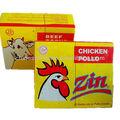 Halal carne de vacuno y de pollo caldo condimento cubo