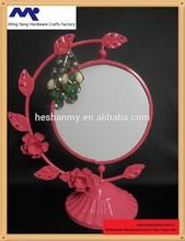 MYM-005 Round metal frame mirror