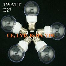 Decorative houses 1w AC220v e27 home decor led light