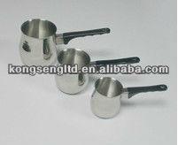 stainless steel coffee warmer, coffee pot set, milk pot