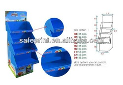 Cardboard Cell Phone Acessories/cellphone display case/Mobile Phone Display Rack