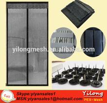mosquito preventing magnetic door curtain/door fly curtain