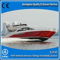 SANJ 45ft luxury yacht with price SJF45 with Cummins Marine Engines
