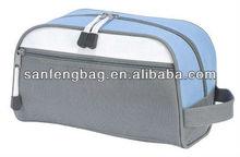 Blue Travel Pack School Zipped Mens Toiletries Bag