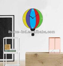 fashion style wall sticker clock(13S121)