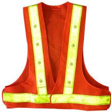 Hi-visibility LED Safety Vest EN471 Class2,ANSI/ISEA Standard