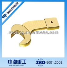 Striking Open End Bent Wrench in Good quality for petrol! handle tool and no spark