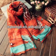 2015 fashion charm plain viscose scarf