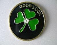 hot sale tree leaf Metal Badge