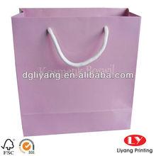 Pink Paper Bag for Children Cloth