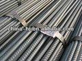 laminados a quente galvanizado construção deformado vergalhões de aço trançado