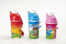 3D nice design plastic water bottle